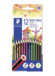 Staedtler Noris Color 185 C12 Colored Pencils, 12-Pieces, Multicolor
