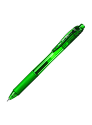 Pentel 12-Piece EnerGel-X Retractable Gel Pens Set, Green