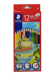 Staedtler Luna ST-136-LC12 Color Pencils Set, 24 Pieces, Multicolor