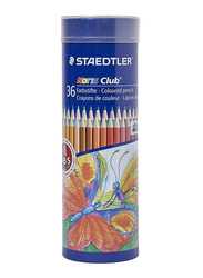 Staedtler Noris Club St-144 NMD36 Color Pencils Set, 36 Pieces, Multicolor