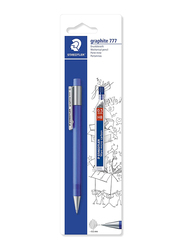 Staedtler Graphite777 Mechanical Pencil with Leads, 0.5mm, Black