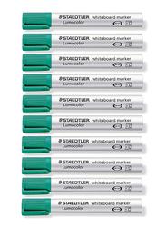 Staedtler Lumocolor 351 Whiteboard Marker with Bullet Tip, Green