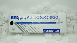 Staedtler Mars Graphic 3000 Duo STP-PACK-207 Brush Marker, 5 Pieces, Multicolor
