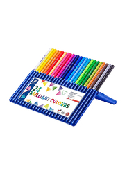 Staedtler Ergosoft 157Sb24 Pencils with Stand-Up Easel Case, 24 Pieces, Multicolor