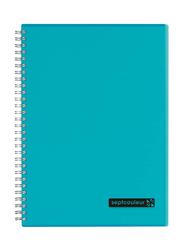 Maruman Septcouleur Notebook, 25 x 17.6cm, 80 Sheets, B5 Size, Light Blue