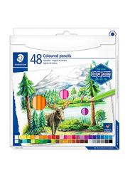Staedtler ST-146C-C48 Color Premium Art Pencils Set, 48 Pieces, Assorted Colors