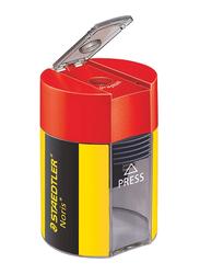 Staedtler Noris Design Round Design Tub Sharpener, 511 004, Multicolor