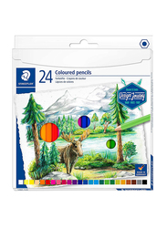 Staedtler ST-146C-C24 Color Pencils Set, 12 Pieces, Assorted Colors