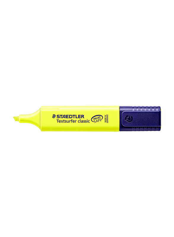 Staedtler 10-Piece Textsurfer Classic Original Color Highlighter Set, Yellow