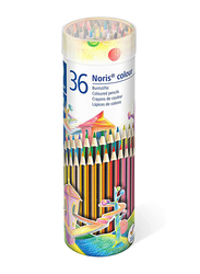Staedtler Noris Color Pencils Cylinder, 36-Pieces, Multicolor
