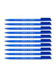 Staedtler 326-3 Synthetic Fiber-Tip Pen, Blue