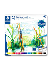 Staedtler Journey ST-14610C-M24 Watercolor Pencils Set, 24 Pieces, Assorted Colors