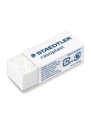 Staedtler Raso ST-526-B30 Plastic Eraser Box, 30 Pieces, White