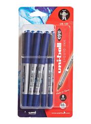 Uniball 8-Piece Eye Ball Pen Set, 0.5mm, Blue