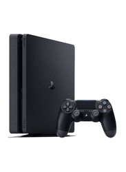 Sony PlayStation 4 Slim Console, 1TB, with 1 Controller, Jet Black