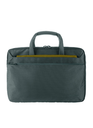 Tucano Workout 3 13-inch Notebook and MacBook Slim Bag, Green/Grey