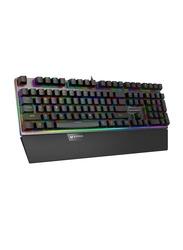 Rapoo V720S RGB Mechanical Gaming Wired Keyboard, Black