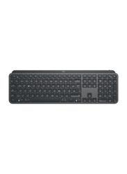 Logitech MX Keys Plus Advanced Wireless Illuminated English Keyboard, Graphite Black