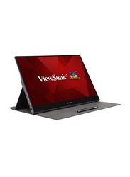 Viewsonic 16 Inch Full HD LED Touch Portable Monitor, TD1655, Black