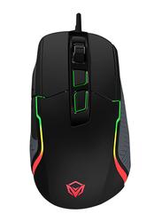 Meetion Poseidon G3360 Professional Macro USB Optical Gaming Mouse, Black