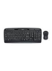 Logitech MK330 Wireless English Keyboard and Mouse Combo, Black
