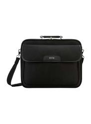 Targus Notepac 15.6-Inch Clamshell Case Messenger Laptop Bag, Black