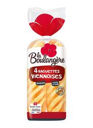 La Boulangere 4 Baguette Viennoise, 220g
