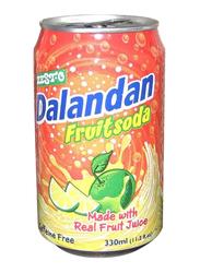 Zesto Dalandan Fruit Soda, 330ml