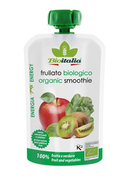 Bioitalia Organic Apple, Kiwi & Spinach Smoothie, 120g