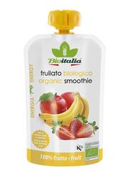 Bioitalia Organic Carrot Apple, Banana & Strawberry Smoothie, 120g