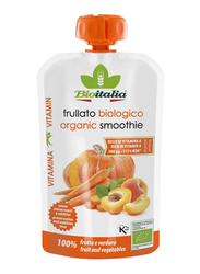Bioitalia Organic Carrot, Apricot & Pumpkin Smoothie, 120g