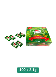 Mahmoud Sharawi Peppermint Flavor Chewing Gum, 100 Pieces x 2.1g