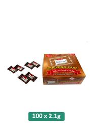 Mahmoud Sharawi Cinnamon Flavor Chewing Gum, 100 Pieces x 2.1g