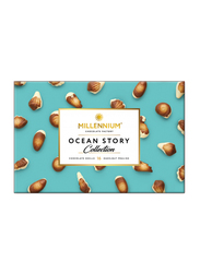 Millennium Ocean Story Collection Chocolate Shells with Hazelnut Praline Gift Pack, 16 Chocolates, 170g