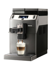 Saeco Lirika One Touch Cappuccino Espresso Coffee Machine, 10004768, Dark Grey