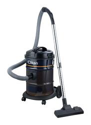 Clikon 1800W Drum Style Vacuum Cleaner with Iron Tank, 21L, CK4401, Blue/Saffron