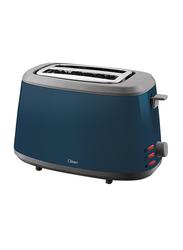 Clikon 2-Slice Bread Toaster, 750W, CK2408-N, Blue