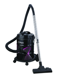 Clikon 1600W Drum Style Vacuum Cleaner with Iron Tank, 18L, CK4400, Black/Pink