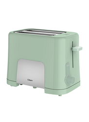 Clikon 2-Slice Bread Toaster, 870W, CK2435, Green