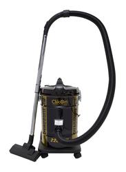 Clikon 2200W Heavy Duty Cylindrical Style Vacuum Cleaner, 25L, CK4024, Black
