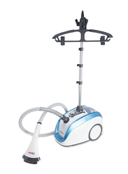 Clikon Vertical Garment Steamer with 4 Steam Levels, 1630W, CK4009, White/Blue