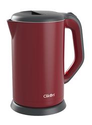 Clikon 1.7L Kettle, 1800W, CK5123, Red