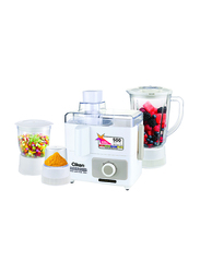 Clikon Juicer Blender, 500W, CK1501, White