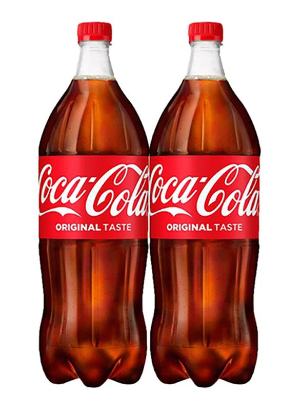 Coca Cola Soft Drink, 2 Bottles x 2 Litres