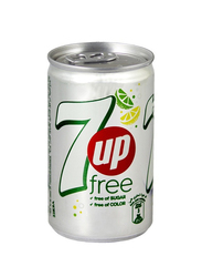 7UP Light Free Soft Drink, 150ml