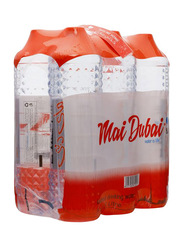 Mai Dubai Bottled Water, 6 x 1.5 Liters