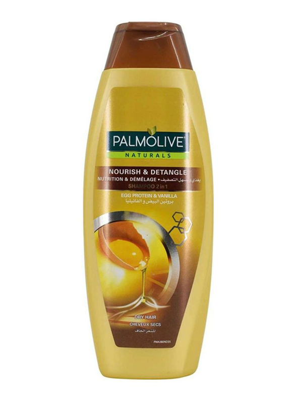 Palmolive Egg & Vanilla Shampoo for Dry/Damaged Hair, 380ml