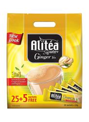 Ali tea Signature 3-in-1 Instant Ginger Tea, 30 Sticks x 20g