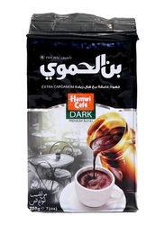 Hamwi Cafe Dark Turkish Coffee with Extra Cardamom, 200g