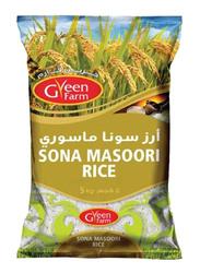 Green Farm Sona Masoori Rice, 5 Kg